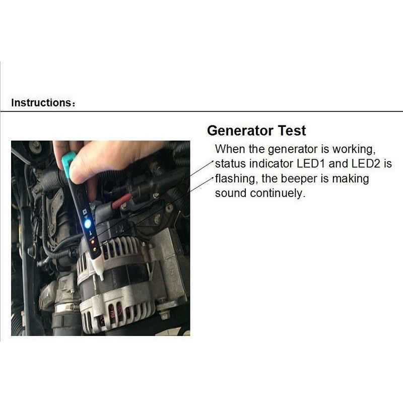 Image 5 - MST 101 Test Pen Car Ignition Coil Tester Car Auto Ignition System Detection Pen Coil On Plug Quick Check Circuit Tool-in Ignition Testers from Automobiles & Motorcycles