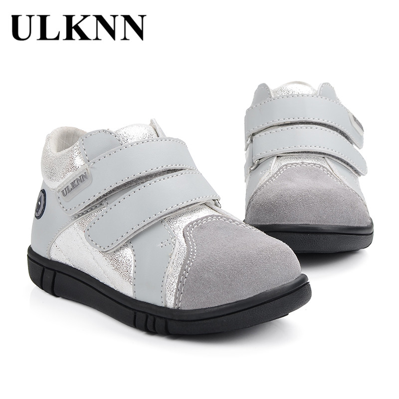 ULKNN Children Casual Shoes Boys For Kids Genuine Leather Flat School  Message Glitter Shiny Kids Sneakers tenis infantil menino-in Sneakers from  Mother ... 90fe572e54d2