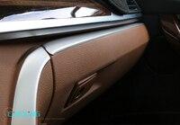 Car Armrest Box Upper Decoration Strip Trim For BMW 3 Series F30 316i 2013 2014 2015