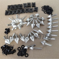 Motorcycle Parts Spike Fairing Bolts Kit High Quality Billet Aluminum For 2002 2003 YZF R1 YZF R1 Yamaha