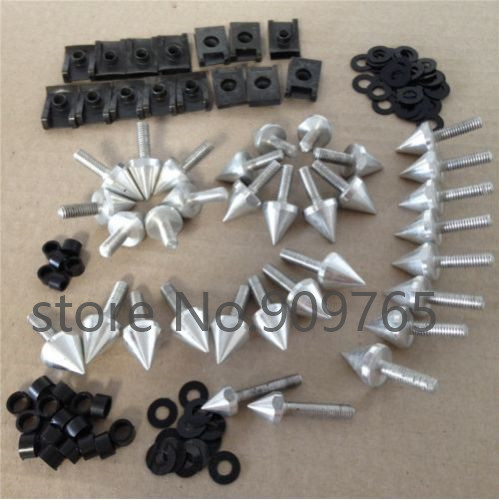 Motorcycle Parts Spike <font><b>Fairing</b></font> Bolts Kit High Quality Billet Aluminum For <font><b>2002</b></font> 2003 YZF <font><b>R1</b></font> YZF-<font><b>R1</b></font> <font><b>Yamaha</b></font> image