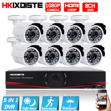 Security Camera System 8ch CCTV System 8 1080P CCTV Camera 2.0MP Camera Surveillance Kit 8ch DVR 1080P HDMI Video Output