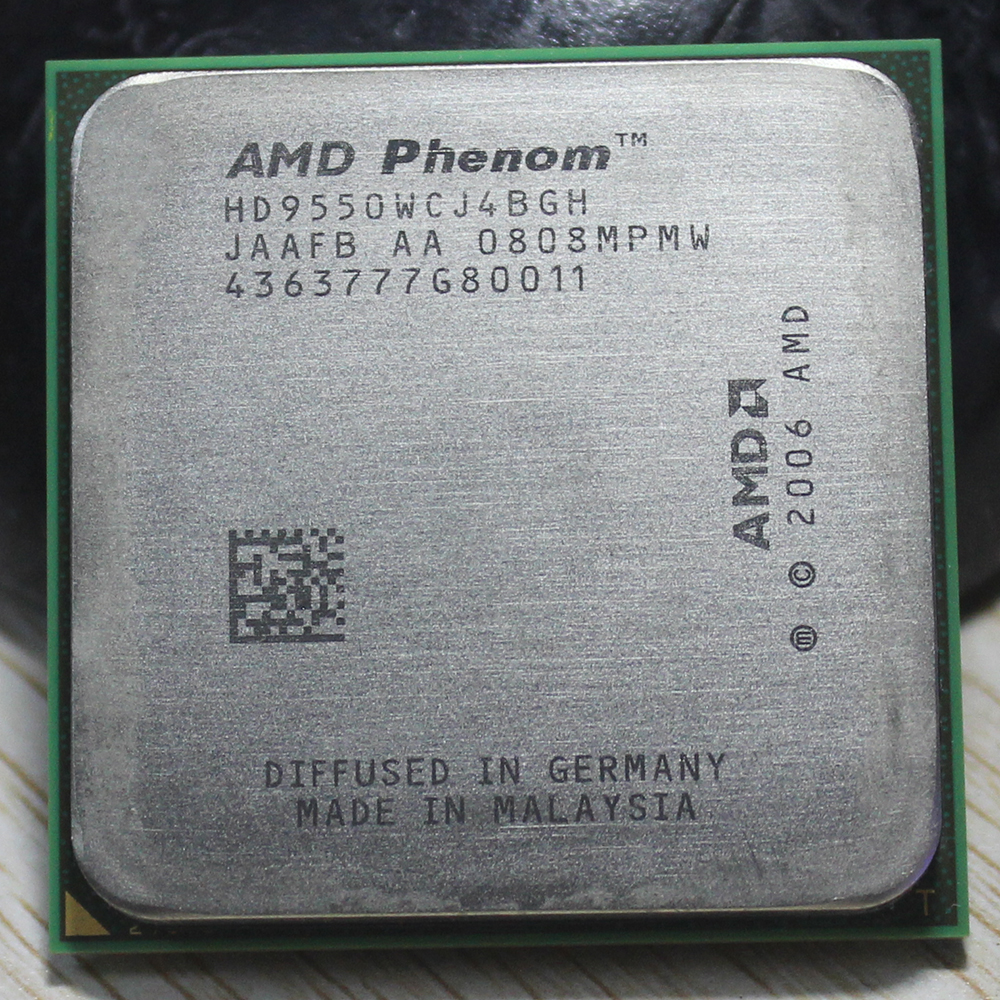 AMD Phenom II X4 955 Desktop CPU Processor 3.2GHz 6MB Socket AM2+/AM3/ 95w 938Pin Quad-CORE