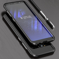 For Samsung Galaxy S8 S8 Plus Case Luxury Ultra Thin Aluminum Metal Original LUPHIE Phone Case