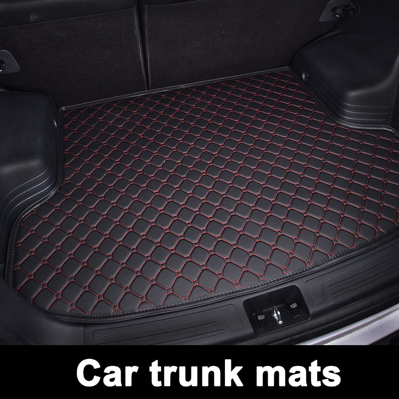 CCARFUNNY custom fit car trunk mats for <font><b>Mercedes</b></font> <font><b>Benz</b></font> <font><b>SLK</b></font> 350 W170 W171 R171 R172 <font><b>SLK200</b></font> image