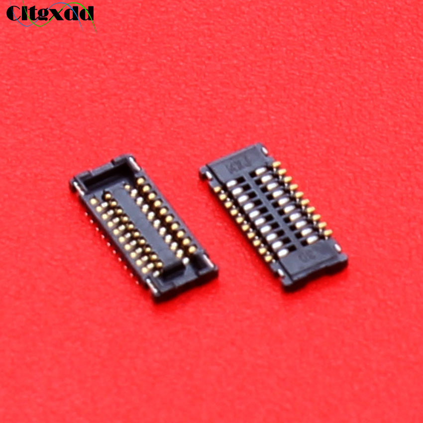 cltgxdd 20 pin TP Touch Screen FPC Connector Port Plug on Mainboard repair replacement for iPad mini 1 2 3 20pin image