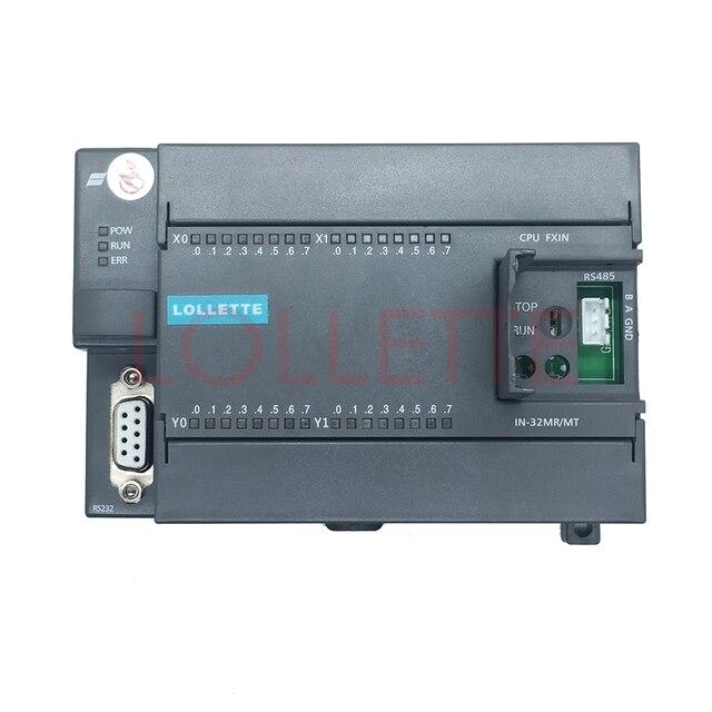 FX1N FX2N   32MT 16 Input 16 Transistor output 24v plc controller 4 channel 100k pulse