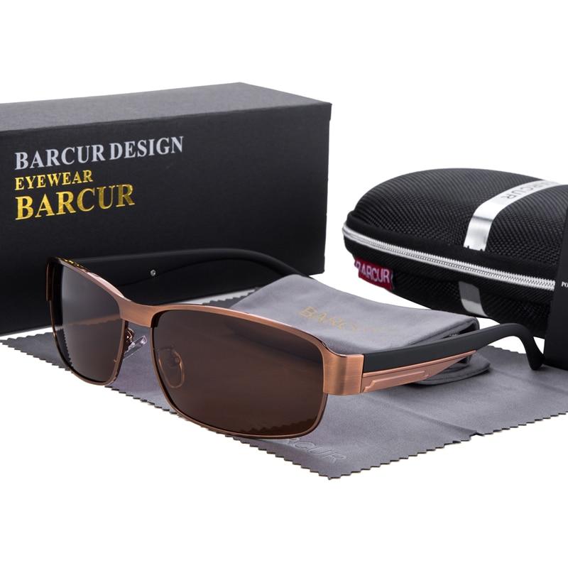 Syzet e diellit BARCUR për drejtimin e syzeve për burra Dielli për - Aksesorë veshjesh - Foto 3