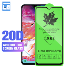 20D Full Tempered Glass for Samsung Galaxy M10 M20 M30 Protective A10 A20 A30 A40 A50 Film