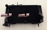 Мотоцикл охлаждения радиатора для Suzuki 1999 2000 2001 2002/SV 650 99 00 01 02 SV 650 S Черный алюминий сплав