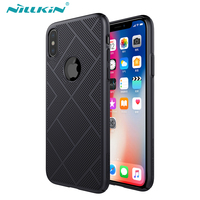 For IPhone X Case Cover Nillkin Pretty Soft Ultra Slim Breathable Cooling Mesh Phone Case For