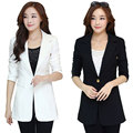 New Women Autumn Winter Style Casual Basic Blazer Coat Single button Top Suit Work Wear OL blusas Plus Size