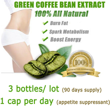 3 PACKS, 3 month supply, Free shipping green coffee bean extract, green coffee slimming for weight loss with 1 bag slim patch