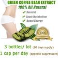 3 PACOTES, fornecimento de 3 mês, o envio gratuito de café verde extrato de feijão, saco de café verde emagrecimento para perda de peso com 1 remendo magro