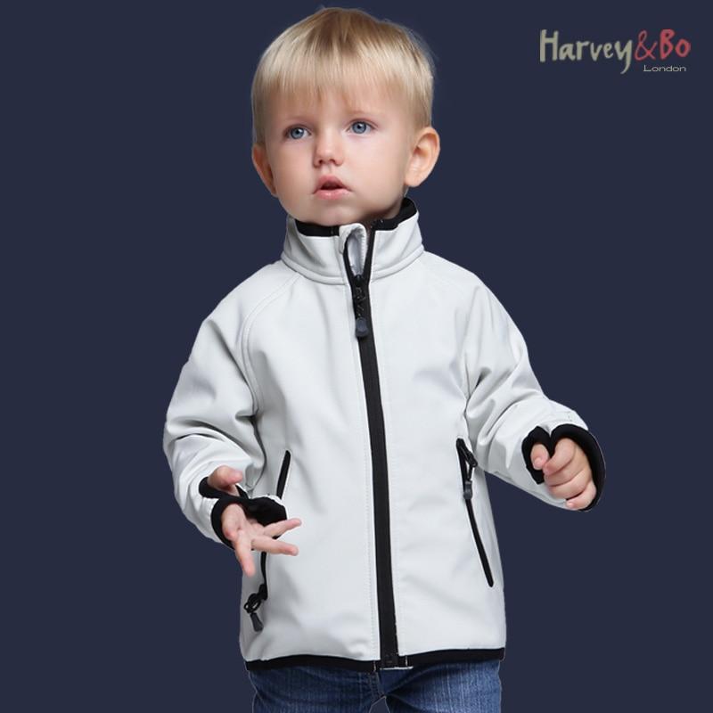 Gyerekkabátok softshell kabát vízálló baba fiúk lányok - Gyermekruházat