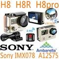 H8R H8 H8pro H8plus H8se Ultra HD 4 К Камеры Действия WI-FI Пульт Дистанционного управления VR360 Водонепроницаемый ek en VR go Sport pro hero 4 спорт cam
