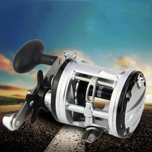 New JCA2000 3000 4000 5000 Metal Coil Drums Deep Sea Boat Fishing Right Hand Lure Fishing Reel