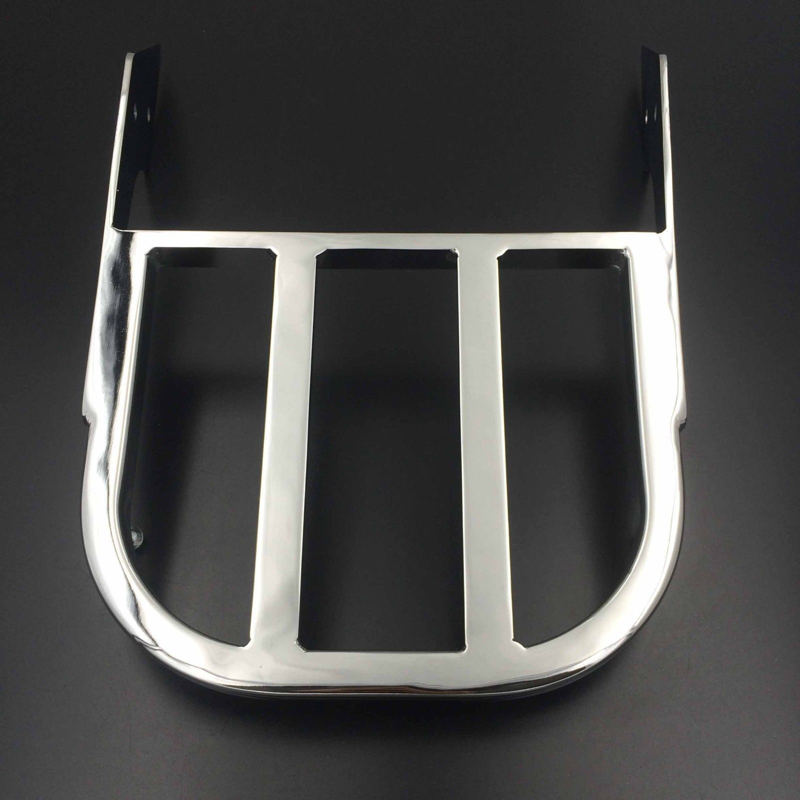Chrome Sissy Bar Luggage Rack For Suzuki Marauder VZ800 Boulevard C50 C90 M50 Motorcycle for suzuki intruder 1400 1500 lc boulevard s83 c90 marauder 800 wing motorcycle foot pegs motorcycle part