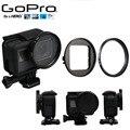 Новый Gopro 5 Аксессуары Фильтр UV + Объектив Защитный Колпак + 52 мм Кольцо Адаптер Filtors набор Фильтр для Go Pro Hero 5 черный