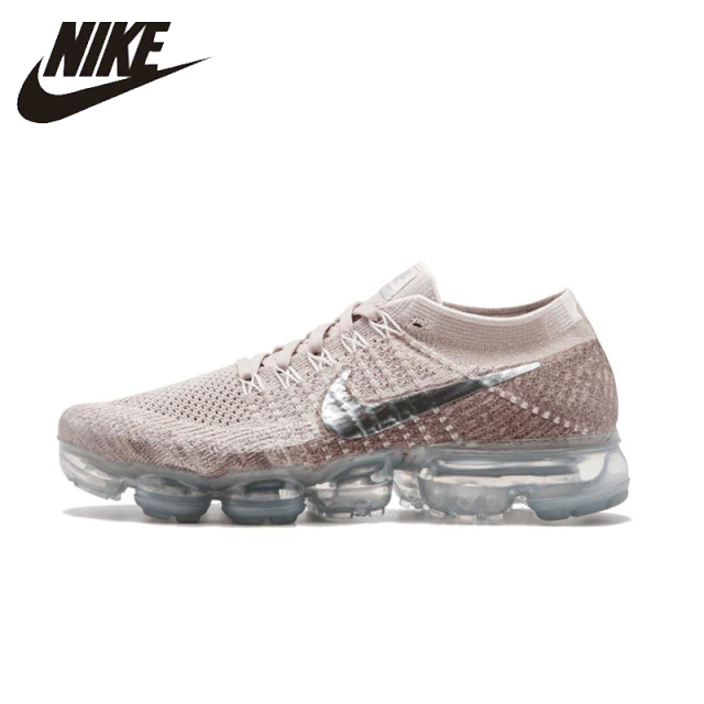 NIKE Air VaporMax Flyknit Original Womens Running Shoes Mesh Breathable  Stability Height Increasing Sneakers For Women