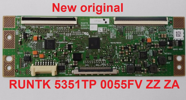 logic board  RUNTK 5351TP ZA ZZ 0055FV original and new  good quality  warranty :1 years cpwbx runtk 4323tp za zz board