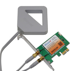 Winyao PCE-8260AC PCI-E X1 pulpit 2.4 GHz/5 GHz bezprzewodowy karta sieciowa Adapter NIC AC11 300 Mbps 867 mb/s 2x2 bezprzewodowy dostęp do internetu Bluetooth
