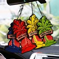 10 Pcs/Pack New Design Paper Air Freshener Hanging Car Air Freshener Vehicle Standard Scented Paper Perfumed Lasting Fragrance