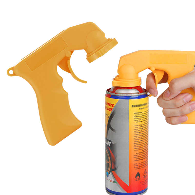 Onever Automotive Aerosol Spray Painting Can Gun Handle With Full Grip Trigger Fad Car Maintenance