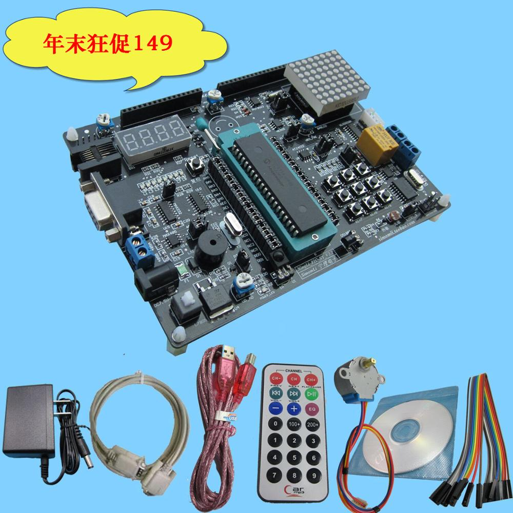 цена на Factory direct PIC16F877A PIC microcontroller development board / learning board with CAN, RS485 communication