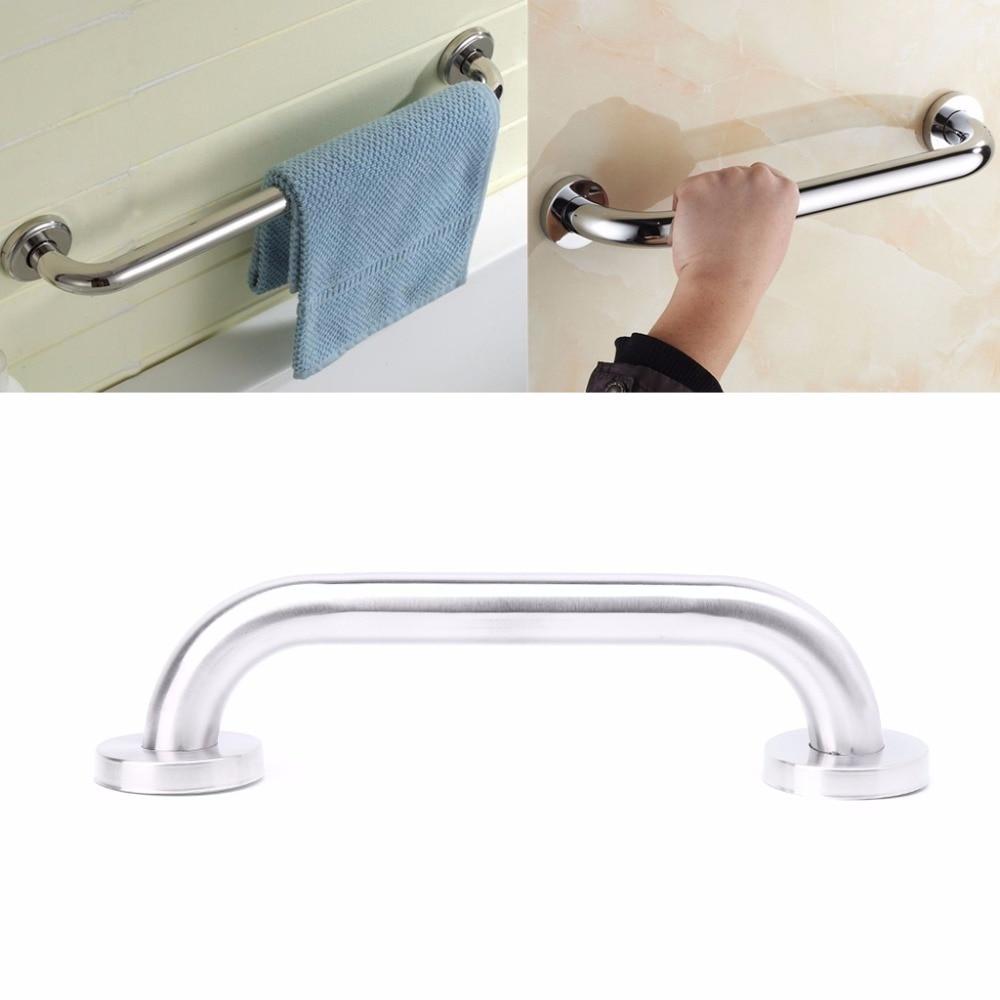 Bañera o ducha de baño de 25cm, pasamanos de acero inoxidable, barra de sujeción para inodoro, mango M08