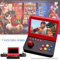 7 дюймов Ретро игровая консоль мини игровые автоматы дети с 3000 классические домашние Путешествия Портативная игровая система детей