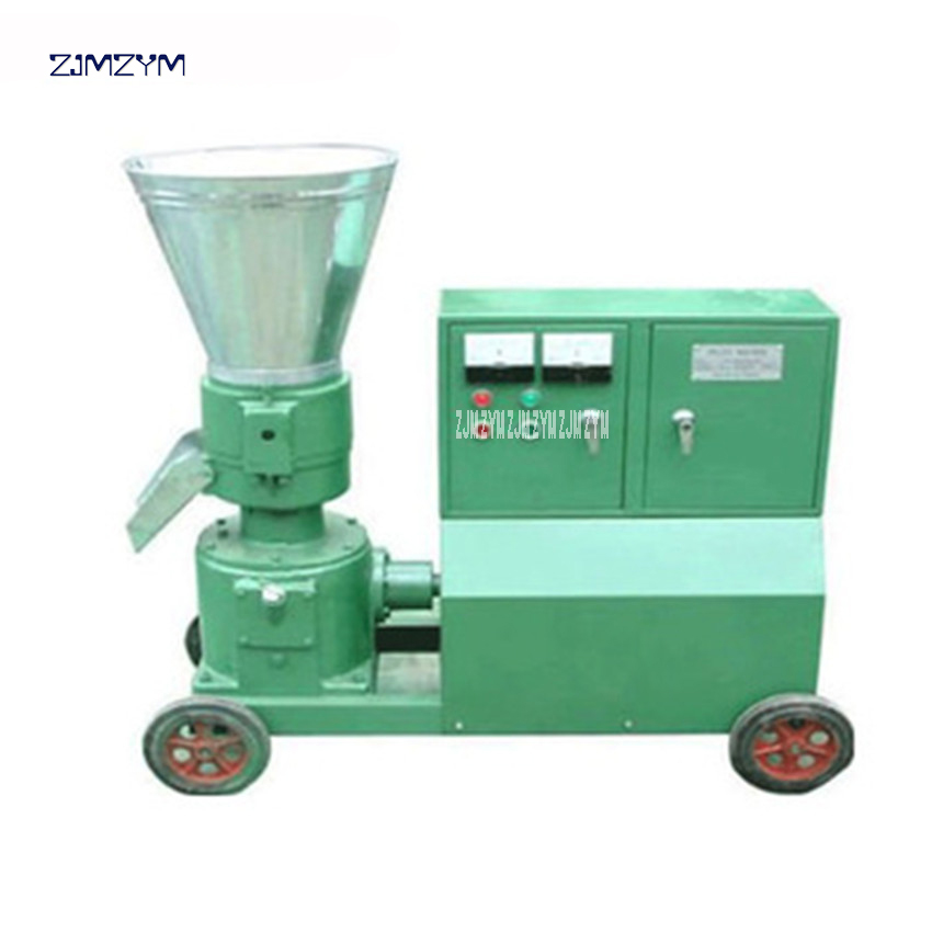 WKL200C High Quality wood pellet machine wood pellet mill 380v/50 Hz mill Granulator 200-300kg/h Feed pellet production 7.5KW цена