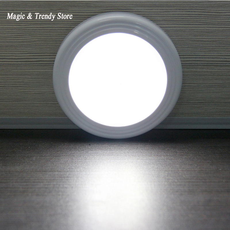 Magnetic Infrared IR Bright Motion Sensor Activated LED Wall Lights Night Light Auto On/Off Battery Operated for Hallway Pathway mini infrared motion sensor led night lights wall lamps