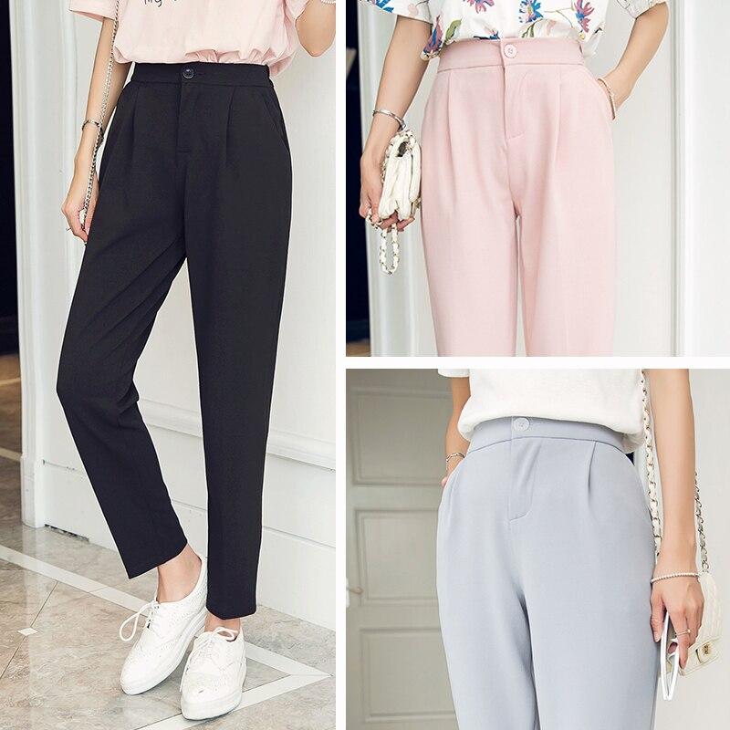Pantalon classique avec taille élastique ...