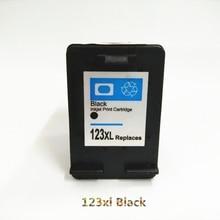 Vilaxh compatible For HP 123 Black Ink Cartridge Replacement xl 123xl Deskjet 2133 3630 3632 3638 1110 2130 Printer