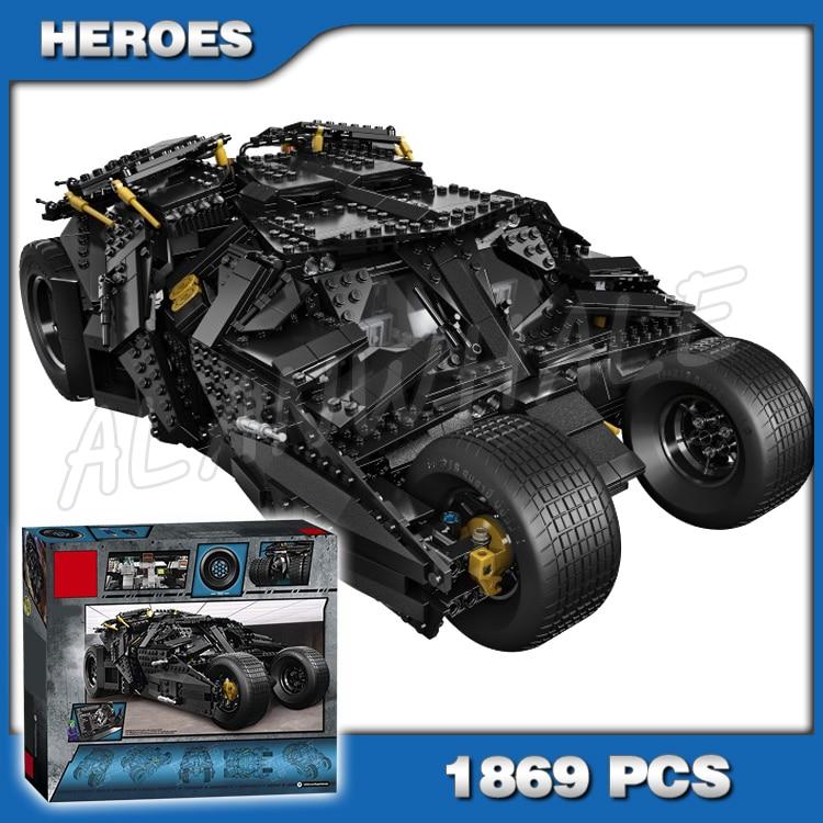 тумблер мальчики - 1869pcs Batman Decool 7111 DC The Tumbler Joker Model Building Blocks boys Bricks Toys Superman Compatible with Lego