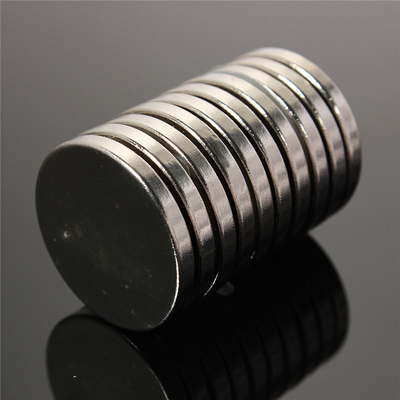 10pcs 25mm x 3mm N35 Round Magnets Rare Earth Neodymium Permenent Magnets Disc Cylinder Home Craft 25 x 3mm Magnet Hot Sale neodymium nib magnet spheres 3mm 20 pack