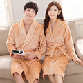 Soft Mink Flannel Sexy Women's Sleep&Lounge Female Robes Plus Size Sleep Robes for Men Pajama Coral Fleece Couples Bathrobe