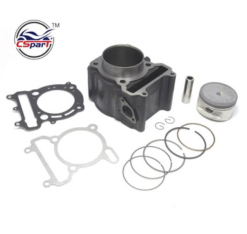 Alte prestazioni 72.5mm Cilindro Bore Kit YP VOG 300 300CC Linhai QianJiang Kinroad Buyang Gsmoon XinYue ATV Buggy Scooter