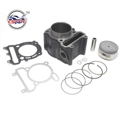 Performance 72.5mm Cylinder Bore Kit YP VOG 300 300CC Linhai QianJiang Kinroad Buyang Gsmoon XinYue ATV Buggy Scooter Parts