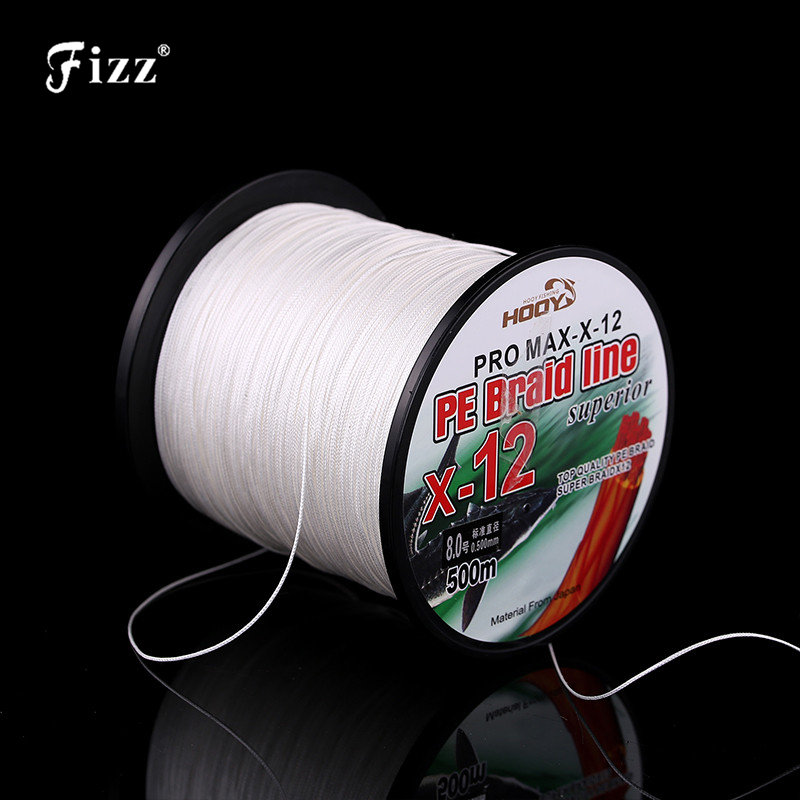 Heavy Duty 12 Strands PE Braided Fishing Line Multifiament PE Braided Sea Fishing Line 70LB 225LB Fishing Accessories