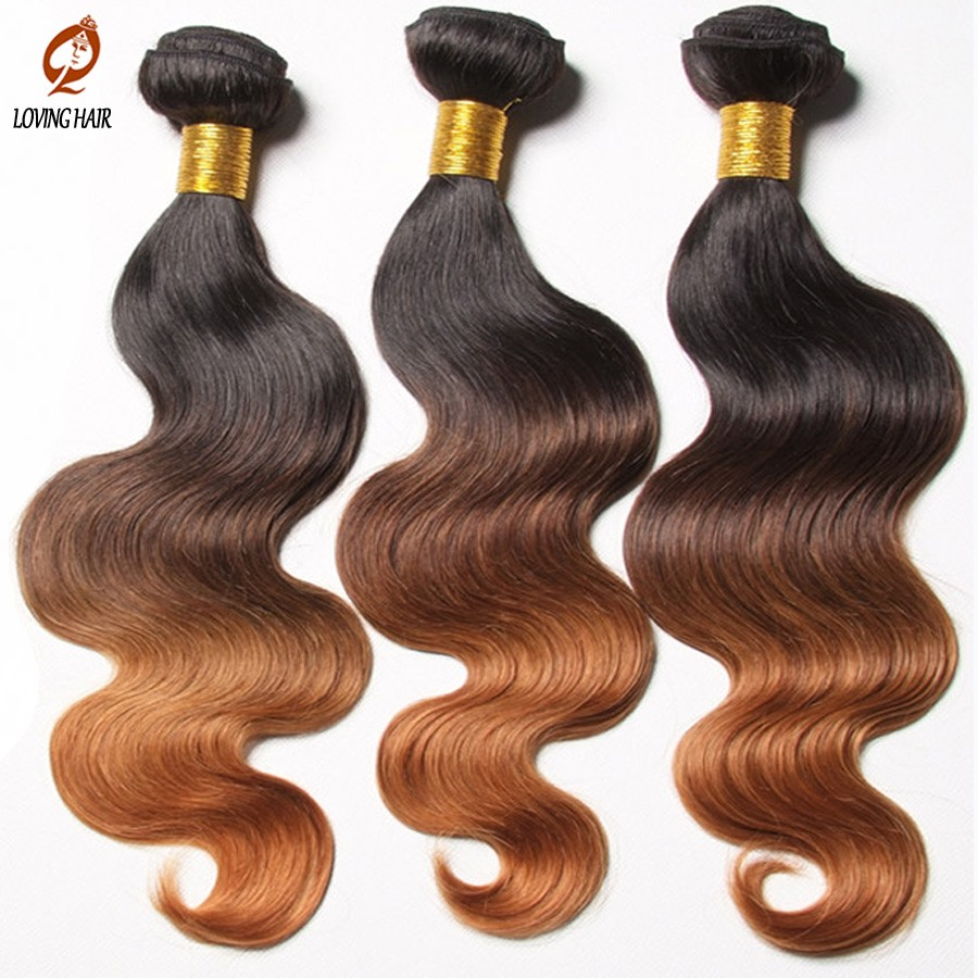Hair-with-closure-brazilian-Body-wave-ombre-brazillian-virgin-hair-weave-with-lace-closure-free-part