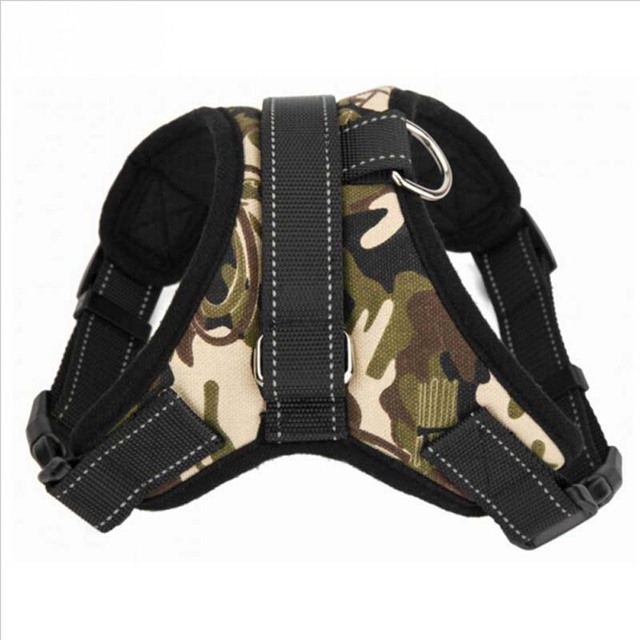 Heavy Duty Nylon Dog Pet Harness Soft Adjustable Collar Extra Big Large Medium Small Dog Harness Pet Out Door Accessories
