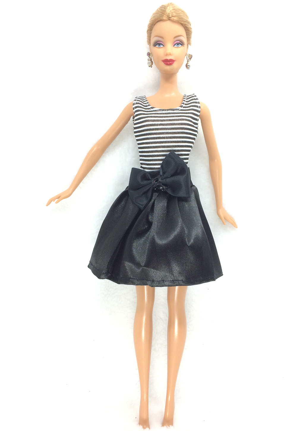 NK 2018 Newest Doll Dress Beautiful Handmade Party ClothesTop Fashion Dress For Barbie Noble