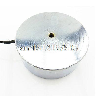 12VDC aimant électrique 15 W 1200N Force de Gravitation électroaimant solénoïde P100/40