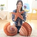 1pcs Starfish shell conch plush stuffed toys pillow for children Marine life plush dolls kids toys birthday gift