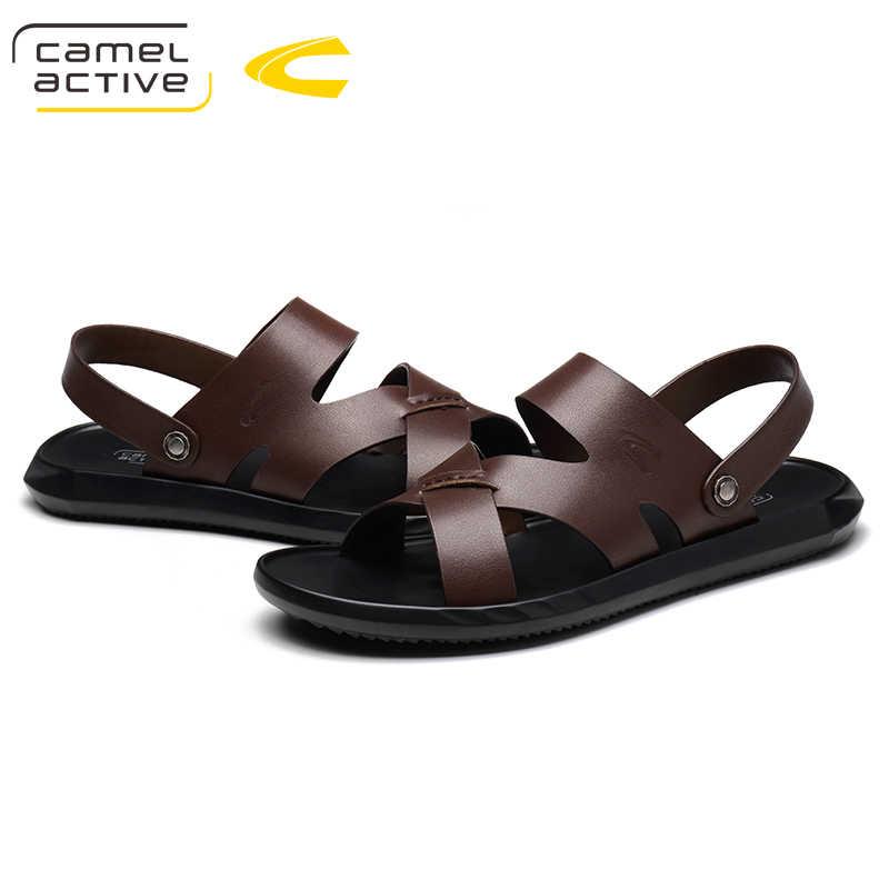 Summer Shoes 2018 Leather Sandals Men
