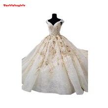 65600 Elegant Wedding Dresses Beautiful Applique Ball Gown
