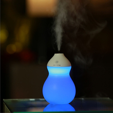LED Light Lamp with 400ml Creative car USB Gourd Air Humidifier Diffuse Mist Maker Mini Household Bottle Purifier