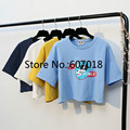 2017 Women's T Shirt European and American Fashion New Summer Short Paragraph lo shi  Lady Girl T-Shirt Loose Free Shipping R365